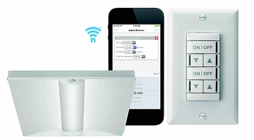 Acuity adds wireless capabilities to its digital lighting controls