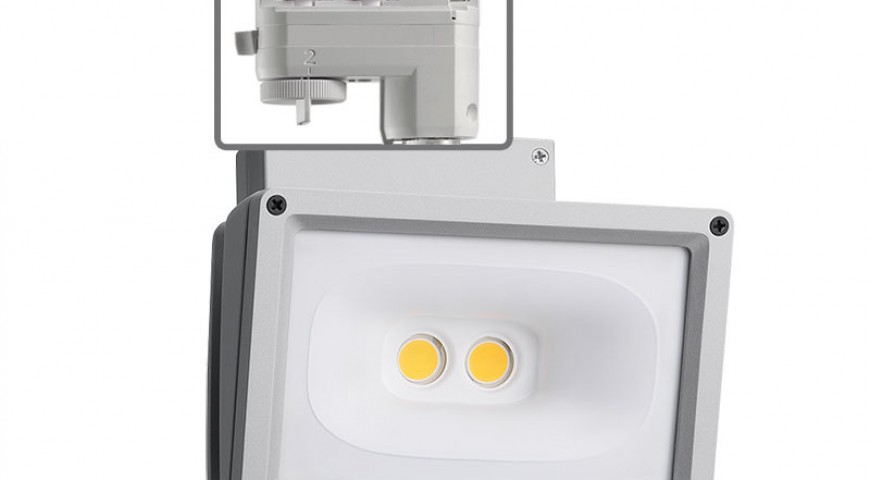 Juno Trac-Master™ LED wall-wash/flood fixtures